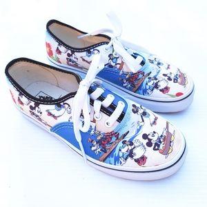 VANS Disney Mickey Mouse Aloha Hawaiian sneakers